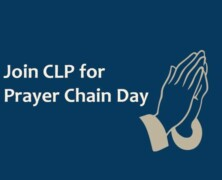Join CLP for Prayer Chain Day