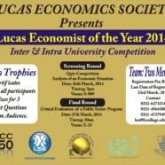 Lucas Economist of the Year 2014