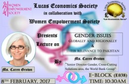 LES and WES to hold a lecture on Gender Issues