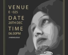 EWC to present Monologue on The Dictator's Wife