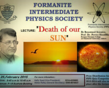 FIPS to hold lecture on the Death of our Sun