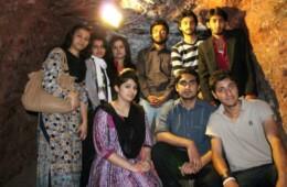 GHS visits Khewra Salt mines and Katas Raj temples
