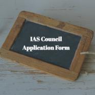 IAS Council Application Form