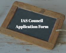 IAS Council Application Form
