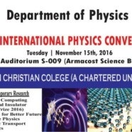 BPS to hold First International Physics Convention