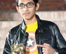 Daniyal Umer wins Best Journalist at Bestival'15