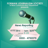Register for FJS News Reporting Competition