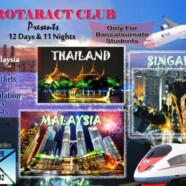 Register for Rotaract Club's trip to Malaysia, Singapore & Thailand