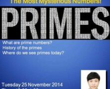 UMS to hold lecture on Mysterious Prime Numbers