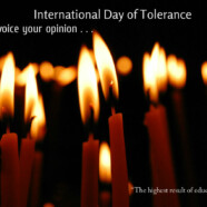 Join IAS & CLP for vigil on International Day of Tolerance
