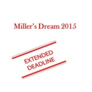 Extension in submission date for papers in Millers Dream 2015